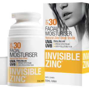Invisible Zinc Facial Moisturiser SPF30