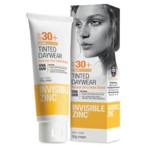 Invisible Zinc Tint Light SPF30